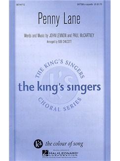 The Beatles: Penny Lane (SATTBB) Books | SATTBB