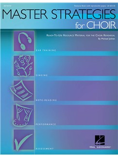 Master Strategies For Choir (Softback) Books | Choral