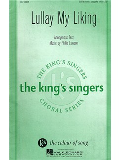 Lullay My Liking Books | SATB
