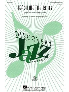 Kirby Shaw: Teach Me The Blues (3-Part) Books | SAB, Piano Accompaniment