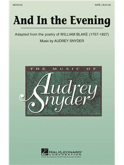 Audrey Snyder: And In The Evening Books | SATB, Piano Accompaniment