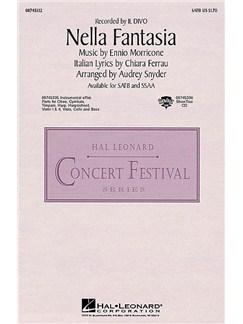 Ennio Morricone/Chiara Ferrau: Nella Fantasia (In My Fantasy) - SSAA Livre | SSAA