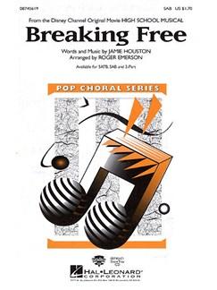 Breaking Free (High School Musical) (SAB) Books   SAB