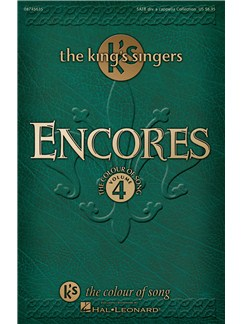 Encores: The King's Singers - Colour of Song Volume 4 Livre | SATB