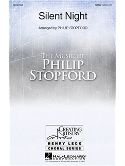 Philip Stopford: Silent Night - SATB Books | SATB, Flute, Organ Accompaniment