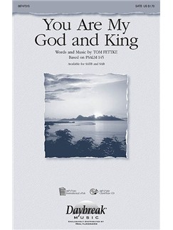 You Are My God And King Books | SATB, Piano Accompaniment