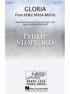 Philip Stopford: Gloria (from Keble Missa Brevis) Books | SATB, Organ Accompaniment