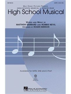 High School Musical 3 (SATB) Books | SATB
