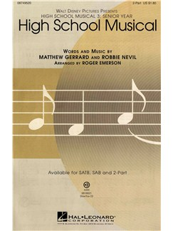High School Musical 3 (2-Part) Books | 2-Part Choir