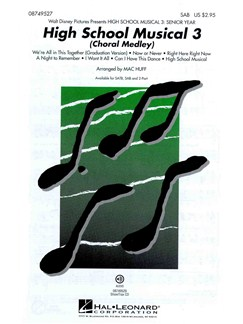 High School Musical 3: Choral Medley (SAB) Books | SAB, Piano Accompaniment