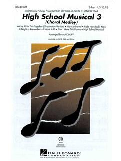 High School Musical 3: Choral Medley (2-Part) Books | 2-Part Choir, Piano Accompaniment