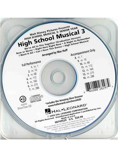 High School Musical 3: Medley (ShowTrax CD) CDs | Choral