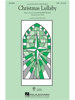 Jason Robert Brown: Christmas Lullaby (Songs For A New World) - SAB Books | SAB, Piano Accompaniment