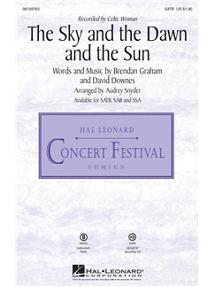 The Sky And The Dawn And The Sun (SATB) Books | SATB, Piano Accompaniment