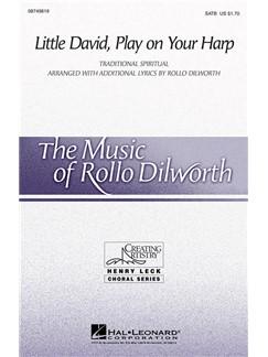 Little David, Play On Your Harp (Arr. Dilworth) (SATB) Libro | SATB, Acompañamiento de Piano, Coral