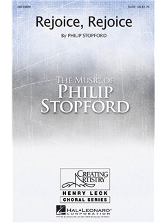 Philip Stopford/Gwynneth Cockcroft: Rejoice, Rejoice Books | SATB, Organ Accompaniment