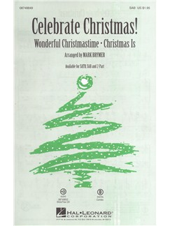 Celebrate Christmas! (SAB) Books | SAB, Piano Accompaniment
