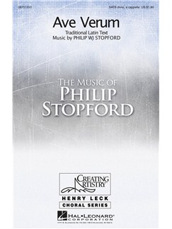 Philip Stopford: Ave Verum Books | SATB