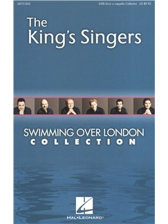The King's Singers: Swimming Over London Collection (SATBBB) Books | SATB