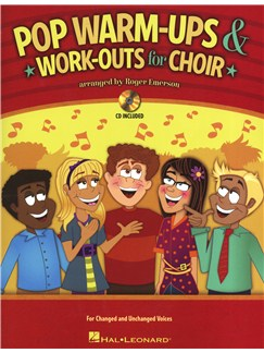 Roger Emerson: Pop Warm-ups & Work-outs For Choir Books and CDs | SATB
