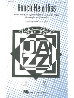 Mike Jackson/Andy Razaf: Knock Me A Kiss (Arr. Steve Zegree) (SATB) Books | SATB, Piano Accompaniment
