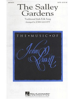 The Salley Gardens (Leavitt) - SATB Books | SATB, Piano Accompaniment