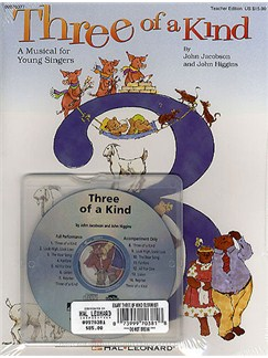 Three Of A Kind (Classroom Kit) Books and CDs |