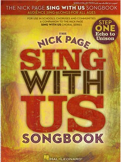 Nick Page: Sing With Us Songbook Books | Unison Voice, Piano Accompaniment