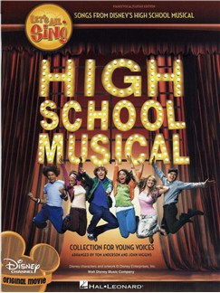 Let's All Sing Songs From Disney's High School Musical (PVG) Books | Piano, Vocal & Guitar