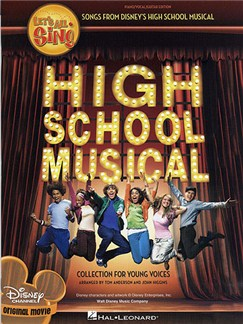 Let's All Sing Songs From Disney's High School Musical: Collection For Young Voices (10 Pack) Books | Voice