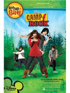 Let's All Sing Songs from Disney's Camp Rock: Collection For Young Voices - 10 Pack Livre | Voix