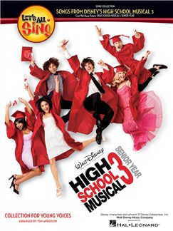 Let's All Sing Songs From Disney's High School Musical 3 Books | Unison Voice, Piano Accompaniment