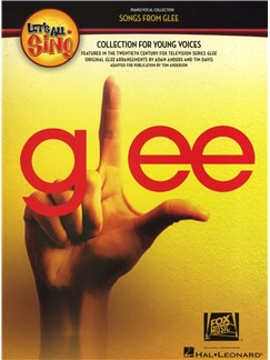 Let's All Sing Songs From Glee - Piano/Vocal Books | Voice, Piano Accompaniment