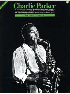 Charlie Parker: Jazz Masters Series Books | Alto Saxophone