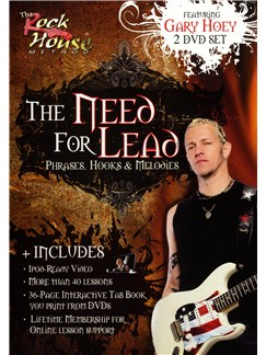 Gary Hoey: The Need For Lead - Phrases, Hooks And Melodies DVDs / Videos | Guitar