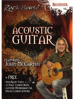 John McCarthy: Acoustic Guitar - Beginner Level DVDs / Videos | Guitar