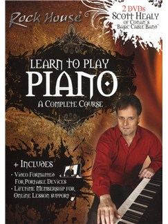 The Rock House Method: Learn To Play Piano - A Complete Course DVDs / Videos | Piano, Keyboard