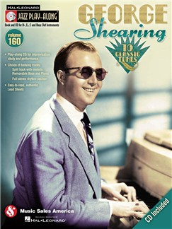 Jazz Play-Along Volume 160: George Shearing Books and CDs | B Flat Instruments, Bass Clef Instruments, C Instruments, E Flat Instruments
