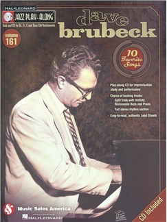 Jazz Play-Along Volume 161: Dave Brubeck Books and CDs | B Flat Instruments, E Flat Instruments, C Instruments, Bass Clef Instruments