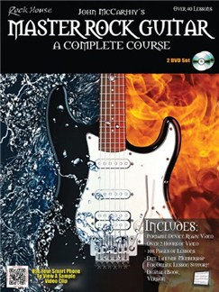 Master Rock Guitar: A Complete Course Books and DVDs / Videos | Guitar, Electric Guitar