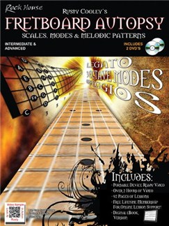Rusty Cooley's Fretboard Autopsy: Scales, Modes & Melodic Patterns Books and DVDs / Videos | Guitar