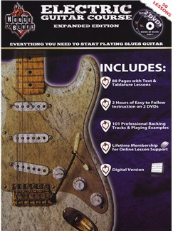 House Of Blues Electric Guitar Course Books and DVDs / Videos | Guitar, Guitar Tab
