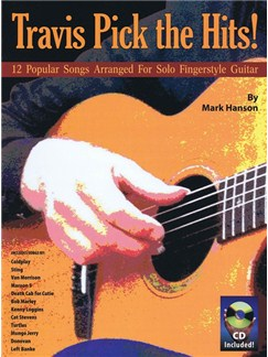 Mark Hanson: Travis Pick The Hits! (Book/CD) Books and CDs | Guitar