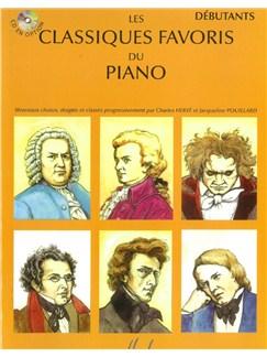 Les Classiques Favoris Du Piano - Volume Débutants Books | Piano