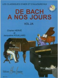 Charles Hervé : De Bach À Nos Jours Vol.2A Books | Piano