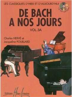 Charles Hervé: De Bach À Nos Jours - Volume 3A Books | Piano