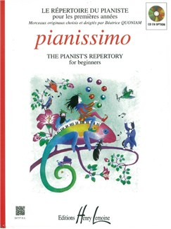 Béatrice Quoniam: Pianissimo - The Pianist's Repertory For Beginners Books | Piano