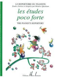 Béatrice Quoniam: Les Études Poco Forte Books | Piano