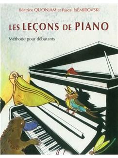 Béatrice Quoniam: Les Leçons De Piano Books | Piano