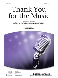 ABBA: Thank You For Music (SATB) Books | SATB